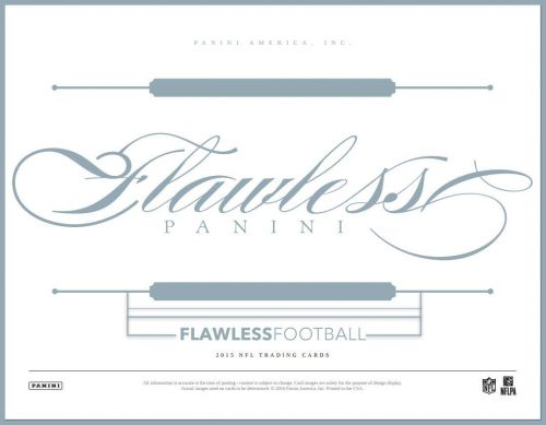 2015 Flawless Football Full Case Hit Draft